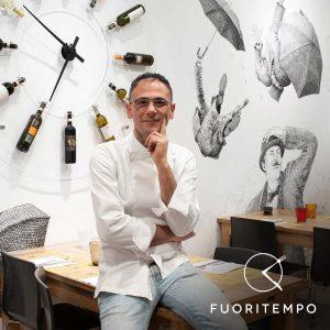 Davide Di Bilio, pizza chef del Fuori Tempo