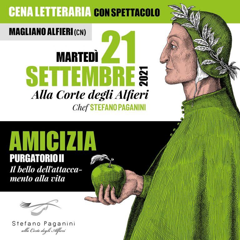 21 settembre 2021 - Gustose Narrazioni - Ristorante Alla Corte degli Alfieri - Magliano Alfieri (Cn)